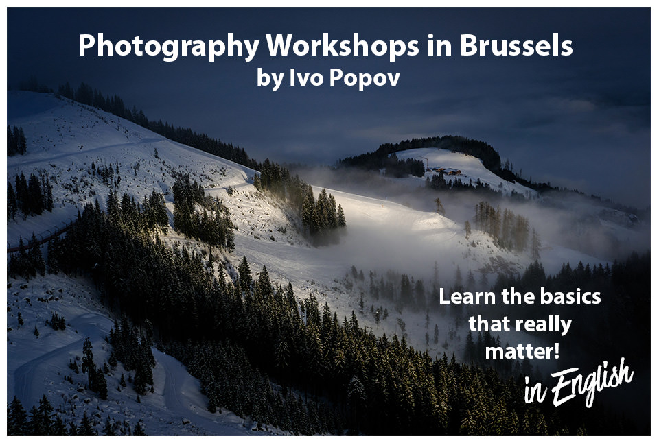 Photography workshop in Brussels by Ivo Popov