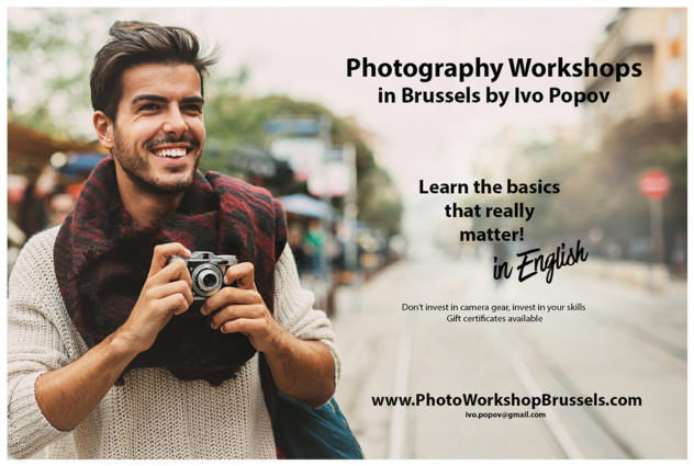 Photo workshop in Brussels
