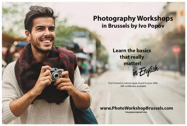Photo workshop in Brussels